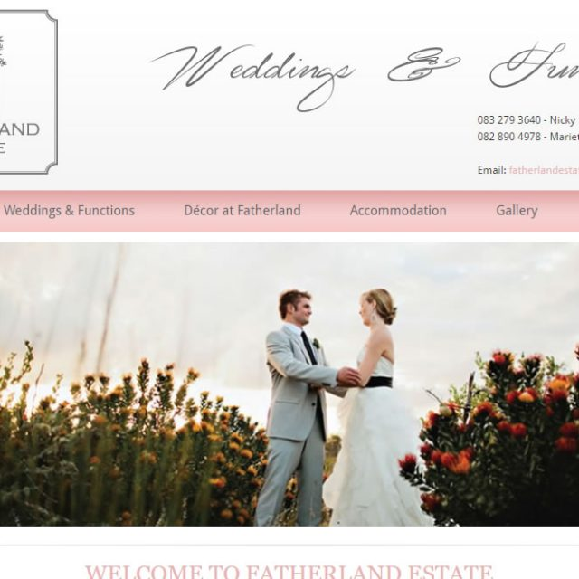 Fatherland Wedding Estate